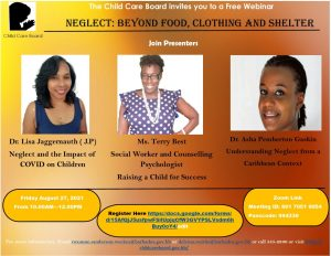 Free Webinar : Neglect: beyond food, clothing and shelter @ Zoom | Saint Philip | Barbados