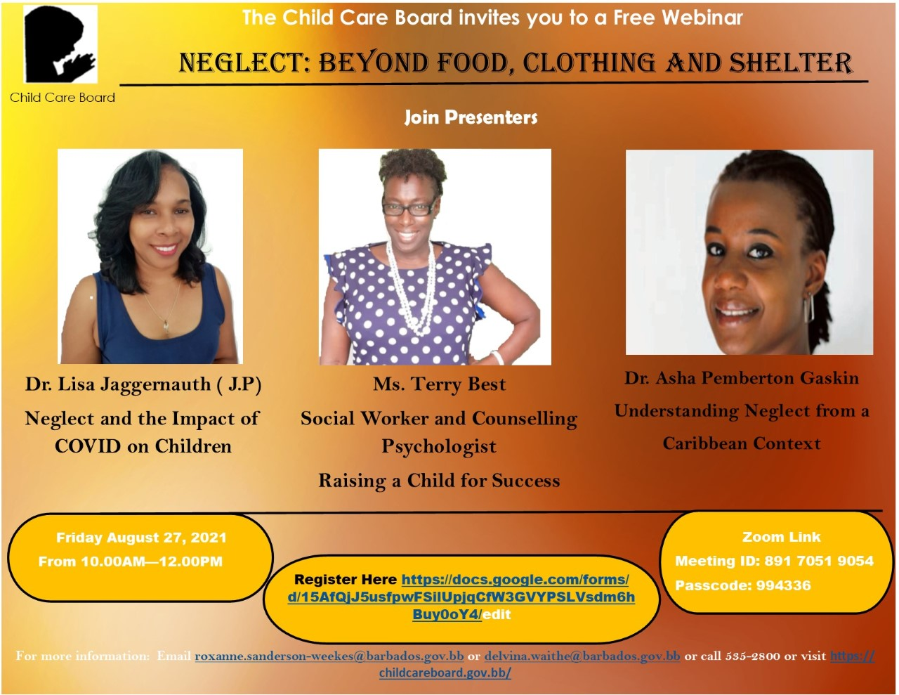 Free Webinar : Neglect: Beyond Food, Clothing And Shelter